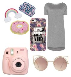 """""""Untitled #4"""" by melani-mazic ❤ liked on Polyvore featuring Fujifilm, MANGO and T By Alexander Wang"""