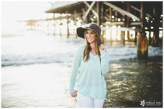 Senior Session: Kelsey// Crystal Pier, Pacific Beach, CA » Analisa Joy Photography
