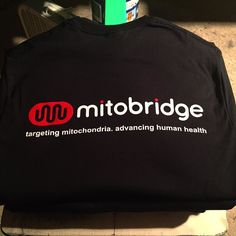 #mitobridge @gildanonline #ultracotton #tshirts #2color #mitochondria #humanhealth #cambridge #innovate