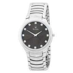 Men's Wrist Watches - Bulova Mens 96D10 Watch * To view further for this item, visit the image link. (This is an Amazon affiliate link)