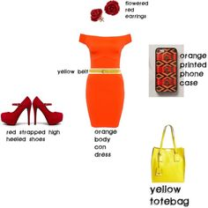 """Kelsey Warm Colors Scheme"" by kelsey-reuter on Polyvore"