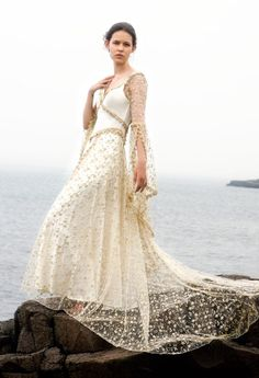 Faerie Brides creates bespoke wedding gowns — specializing in fantasy, fairytale, Celtic, Medieval, Renaissance, vintage, and faerie wedding gowns. She also makes completely custom designs, s…
