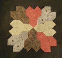 Hexagono alargado hecho con nuestro producto Templatesquick ®™ REF: TI30HI,