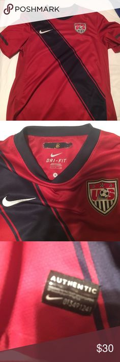 USA soccer jersey Good condition, authentic Nike Shirts