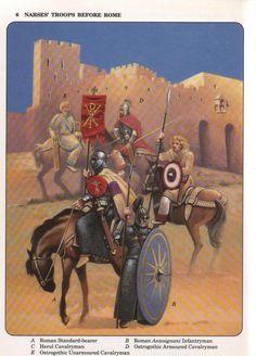 византийская армия 6 век