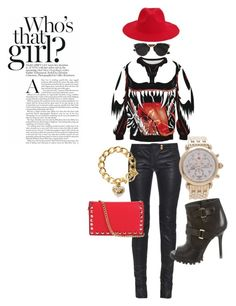 """""""I AM JMADDD STYLES...."""" by johncm on Polyvore featuring Balmain, Tory Burch, Christian Dior, Michele, Juicy Couture, women's clothing, women's fashion, women, female and woman"""