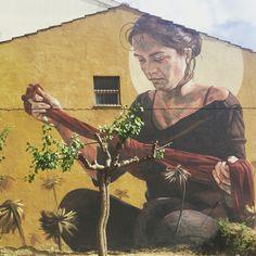 Milu Correch #impronte2016 #streetart (Bonito/Italy)