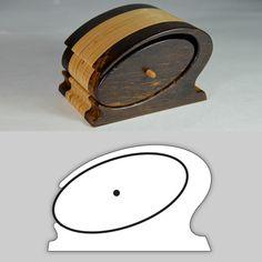 "free pattern bandsaw box | Bandsaw Box Pattern ""Chicago"""
