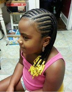 Large Cornrows Styles For Little Girls Little Black Girl Cornrow . , large cornrows styles for little girls Little Black Girl Cornrow little black girls braided hair styles - Hair Style Girl , Little Girl Braids, Black Girl Braids, Braids For Kids, Kid Braids, Children Braids, Kids Braids With Beads, Toddler Braids, Little Black Girls Braids, Toddler Hair