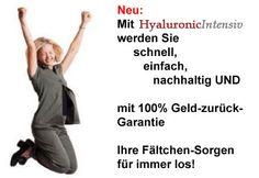 Hyaluronic Intensiv – Das natürliche Falten-frei-Produkt*