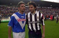 Baggio e del Piero