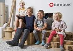 Baabuk - Shoes, sneakers, slippers, boots made from felted wool.