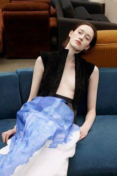 Helena Severin for BA/FASHION 2013 Lookbook by Thomas Lohr  Hanna Putz