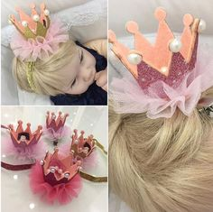 Diy Hair Accessories, Diy Hairstyles, Baby Baby, Baby Dress, Headbands, Crown, Marriage, Baby Boy Dress, Head Bands