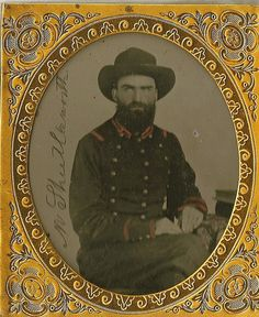Pvt. Morgan Shuttleworth, 36th Alabama Infantry, Company H. He was shot at the Battle of Resaca, and taken POW then exchanged May 1864. He later died of his wounds. dmw