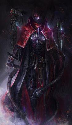 haaaaaaaaave-you-met-ted:  Tech Priest Inquisitor by theDURRRRIAN