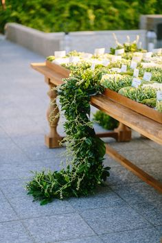 Table Runner with Greenery | Photography: Brian Leahy Photography. Read More: https://www.insideweddings.com/news/travel-honeymoon/say-i-do-and-honeymoon-at-one-of-balis-most-luxurious-resorts/3222/