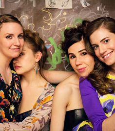 Perfect print club: The cast of 'Girls' includes (from left) Lena Dunham as Hannah, Jemima Kirke as Jessa, Zosia Mamet as Shoshanna and Allison Williams as Marnie. In the show's fifth season, Shoshanna will travel to Tokyo for a job opportunity. Adam Driver, Allison Williams, Girls Season 6, My Girl, Cool Girl, Good Girl Quotes, Girls Hbo, Hbo Series, Porno
