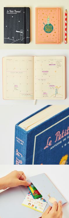 Lovely Le Petit Prince illustrations are drawn throughout the planner! Many useful features are also here to enhance your experience.