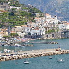 """THE JEWELS OF THE AMALFI COAST"" A seven day program in this gorgeous verdant coastal corner of Italy is the ultimate experience in the ultimate seaside destination."