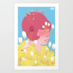 Former And Ladder Art Print by Kristina Collantes - $15.00