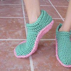 Opciones CROCHET Zapatillas para el patrón de WM en Craftsy.com