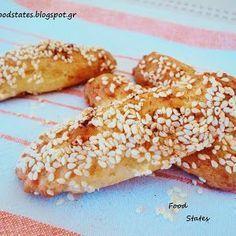 Αλμυρά κουλουράκια - Food States Pitta, Greek Recipes, Biscuits, French Toast, Food And Drink, Snacks, Cookies, Vegetables, Breakfast