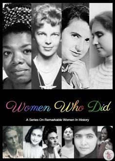 """""""Women Who Did"""" Seri"""
