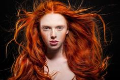 Red on Black.