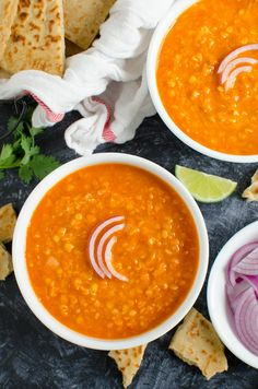 Red Curry Lentils Recipe Pinch Of Yum. Cauliflower Yellow Lentil Curry Recipe Pinch Of Yum. Home and Family Cheesy Pasta Recipes, Chicken Spaghetti Recipes, Chicken Recipes, Chicken Soup, Fried Chicken, Greek Lentil Soup Recipe, Red Lentil Recipes, Vegetarian Recipes, Easy Pasta Salad Recipe