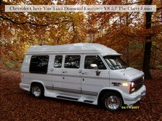 Hallo welkom op mijn pagina over mijn Chevrolet Chevy Van Tiara Diamond Executive, ingevoerd in 2004 uit Ohio met de bijnaam: De Chevy-Limo, veel plezier ...