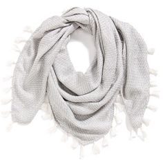 Hinge Textured Square Scarf