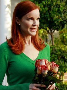 Actress Marcia Cross Shows Off Her Gorgeous Red Hair