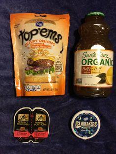 #Kroger Freebies  @Kroger top'ems  Santa Cruz Organic tea  Sheba Perfect Portions ❄️ Ice Breakers Coolmint Mints ⛄️ #freestuff #freebies #samples #free
