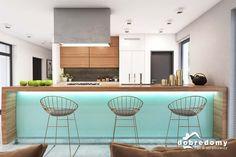 Marika - Dobre Domy Flak & Abramowicz Interior Architecture, Interior Design, Good House, Facade House, Big Houses, Design Case, Modern House Design, Home Projects, Sweet Home