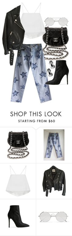 """""""Untitled #22125"""" by florencia95 ❤ liked on Polyvore featuring Chanel, Ralph Lauren, A.L.C., Acne Studios, Baldwin and Linda Farrow"""