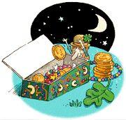 St Patrick's Day Magic Treasure Box