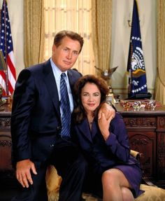 Jed and Abigail Bartlet from The West Wing.