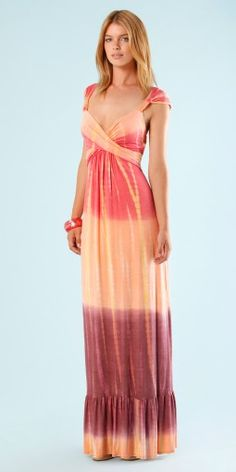 ba7f207e9401cf Hale Bob Beautiful Maxi Dresses, Hale Bob, Light Spring, Tie Dye Skirt,