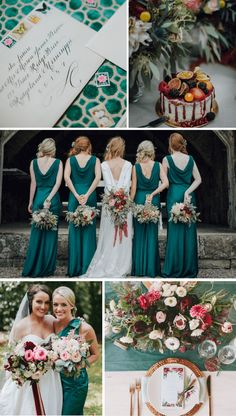 ΓΑΜΟΣ ΤΟ ΝΟΕΜΒΡΙΟ: ΠΡΑΣΙΝΟ & ΜΠΟΡΝΤΩ. Αυτή η παλέτα χρωμάτων ταιριάζει απόλυτα σε χειμωνιατικους γάμους και ο συνδυασμός τους βγάζει ένα κομψό και κλασικό αποτέλεσμα. Bridesmaid Dresses, Wedding Dresses, Table Decorations, Fashion, Bridesmade Dresses, Bride Dresses, Moda, Bridal Gowns, Fashion Styles