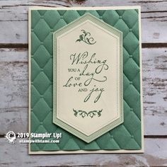 The Stampin Up Annual Catalog is here plus over 60 ideas from it - Modernes Wedding Anniversary Cards, Wedding Cards, Happy Anniversary, Embossed Cards, Beautiful Handmade Cards, Butterfly Cards, Baby Kind, Card Tutorials, Birthday Cards
