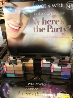 Wet n Wild Where's the Party Eyeshadow Collection Holiday 2012 4