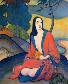 Autumn - John Palmer Wicker - 1924