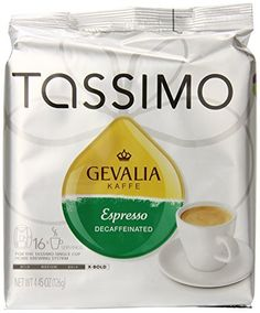 Gevalia Kaffe Decaffeinated Espresso Size 16 Count Home  Kitchen ** Read more at the image link.-It is an affiliate link to Amazon. #GiftBaskets