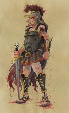 Jeff Davis ~ Greek God Ares
