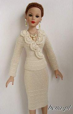 【海外】かぎ針で編む人形の洋服 : Crochet with Ricky