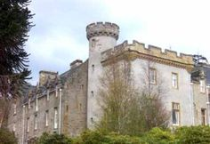 Tulloch Castle, Scotland.  Tulloch Castle is located on the edge of the town of Dingwall in the county of Ross and Cromarty, (or Ross-shire). Tulloch Castle was believed to have been built by the Norsemen, and dates as far back as the 12th century, and is now a luxury hotel.