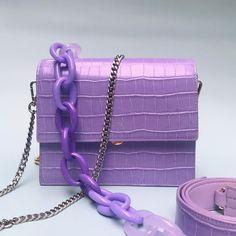 Trendy Handbags, Purses And Handbags, Mini Mochila, Luxury Purses, Bag Patterns To Sew, Purple Bags, W 6, Cute Bags, Fashion Bags