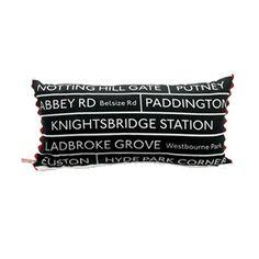 Bus Destination cushion