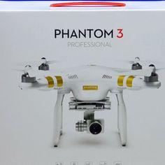 BRAND NEW DJI Phantom 3 Professional Quadcopter Aircraft w/4K UHD Camera  Gimbal